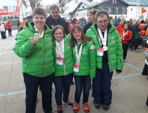 Alojz, Irena, Marko in Iztok na Svetovnih igrah v Schladmingu