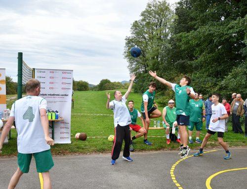 Športni dan v okviru Evropskega tedna športa in otvoritev obnovljenega košarkarskega igrišča